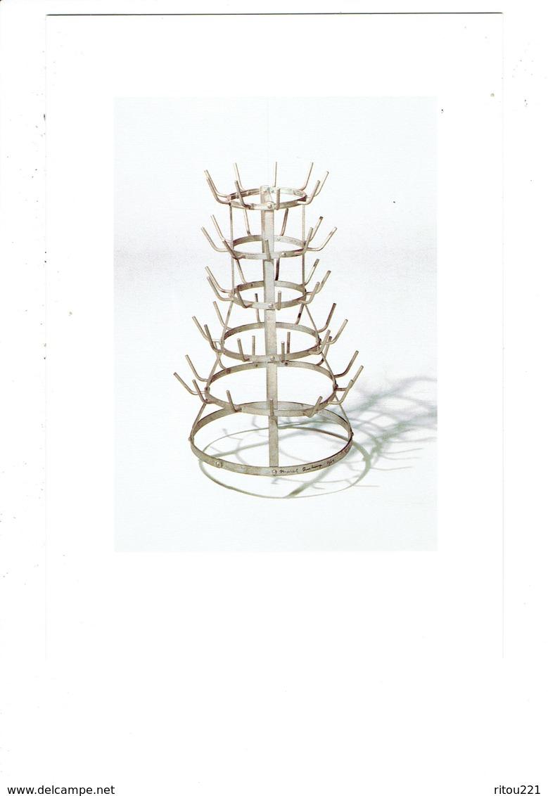 Cpm - Marcel Duchamp - Porte-bouteilles - Fer Galvané - Centre Pompidou Paris - Arts