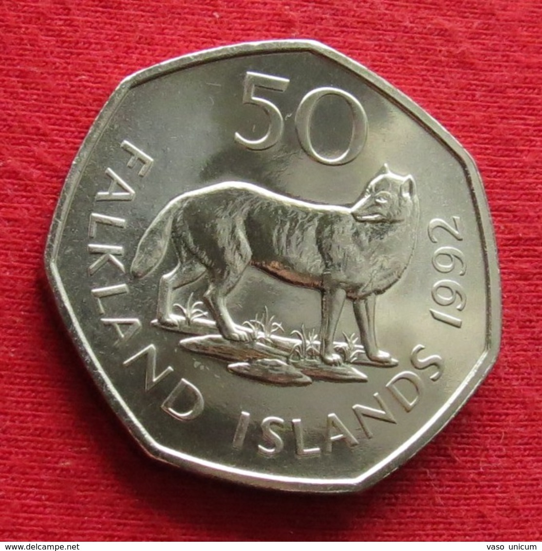 Falkland 50 Pence 1992 - Falkland Islands
