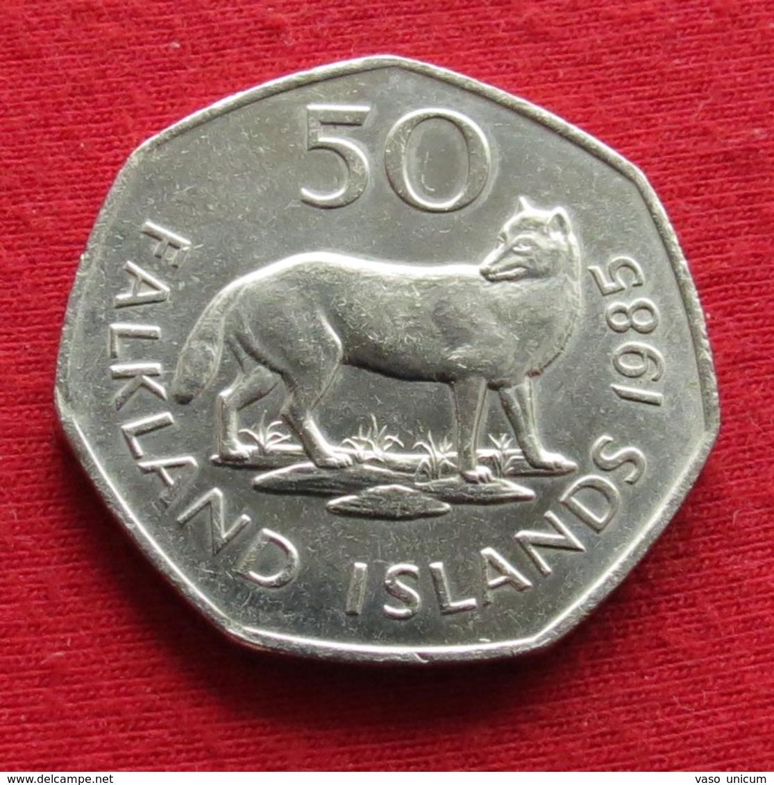 Falkland 50 Pence 1985 - Falkland Islands