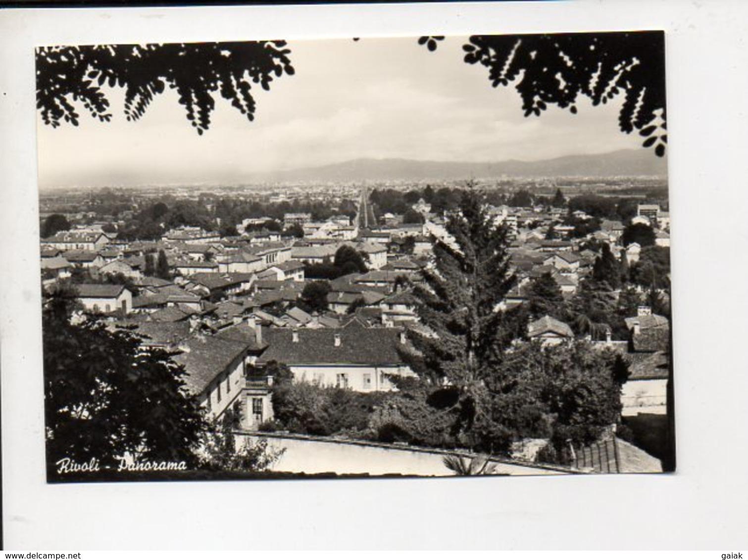 526  RIVOLI  Panorama - Rivoli