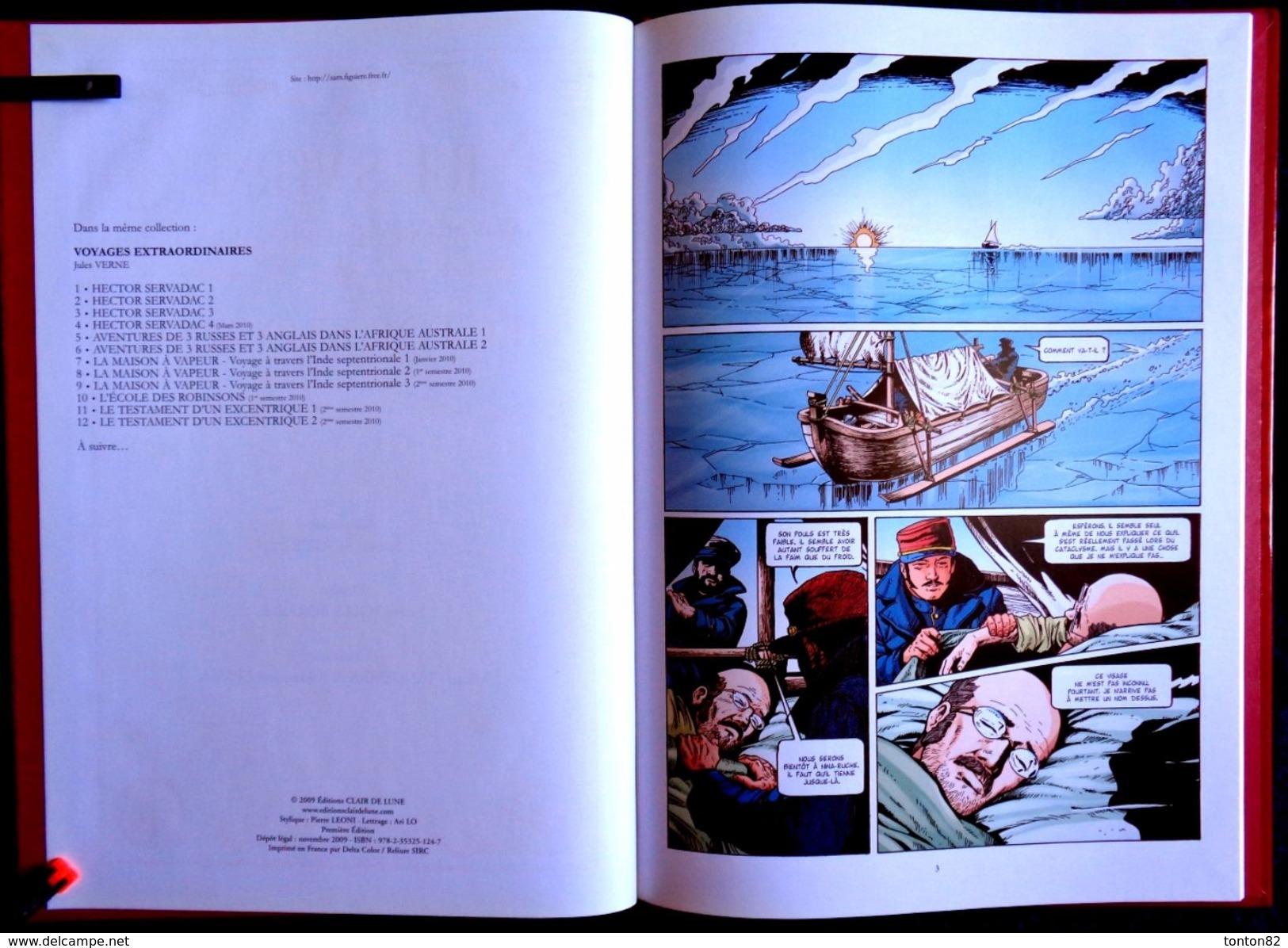 """Jules Verne - Hector Servadac - ( Tome 3 ) """" Gallia """" - Éditions Clair De Lune - ( 2009 ) . - Bücher, Zeitschriften, Comics"""