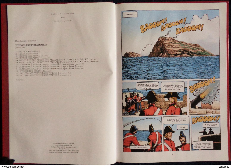 "Jules Verne - Hector Servadac - ( Tome 2 ) "" Nina-Ruche "" - Éditions Clair De Lune - ( 2009 ) . - Bücher, Zeitschriften, Comics"