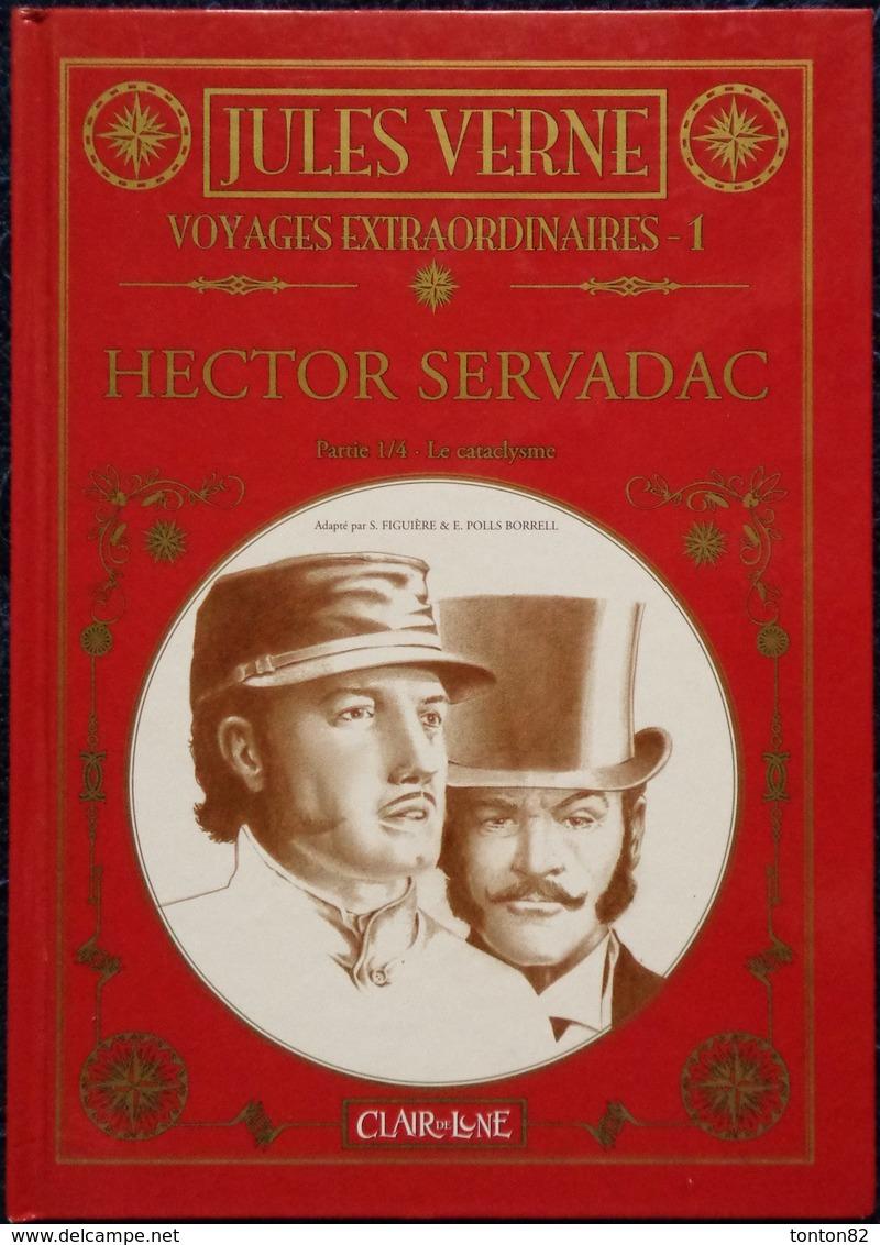"Jules Verne - Hector Servadac - ( Tome 1 ) "" Le Cataclysme "" - Éditions Clair De Lune - (  2009 ) . - Bücher, Zeitschriften, Comics"
