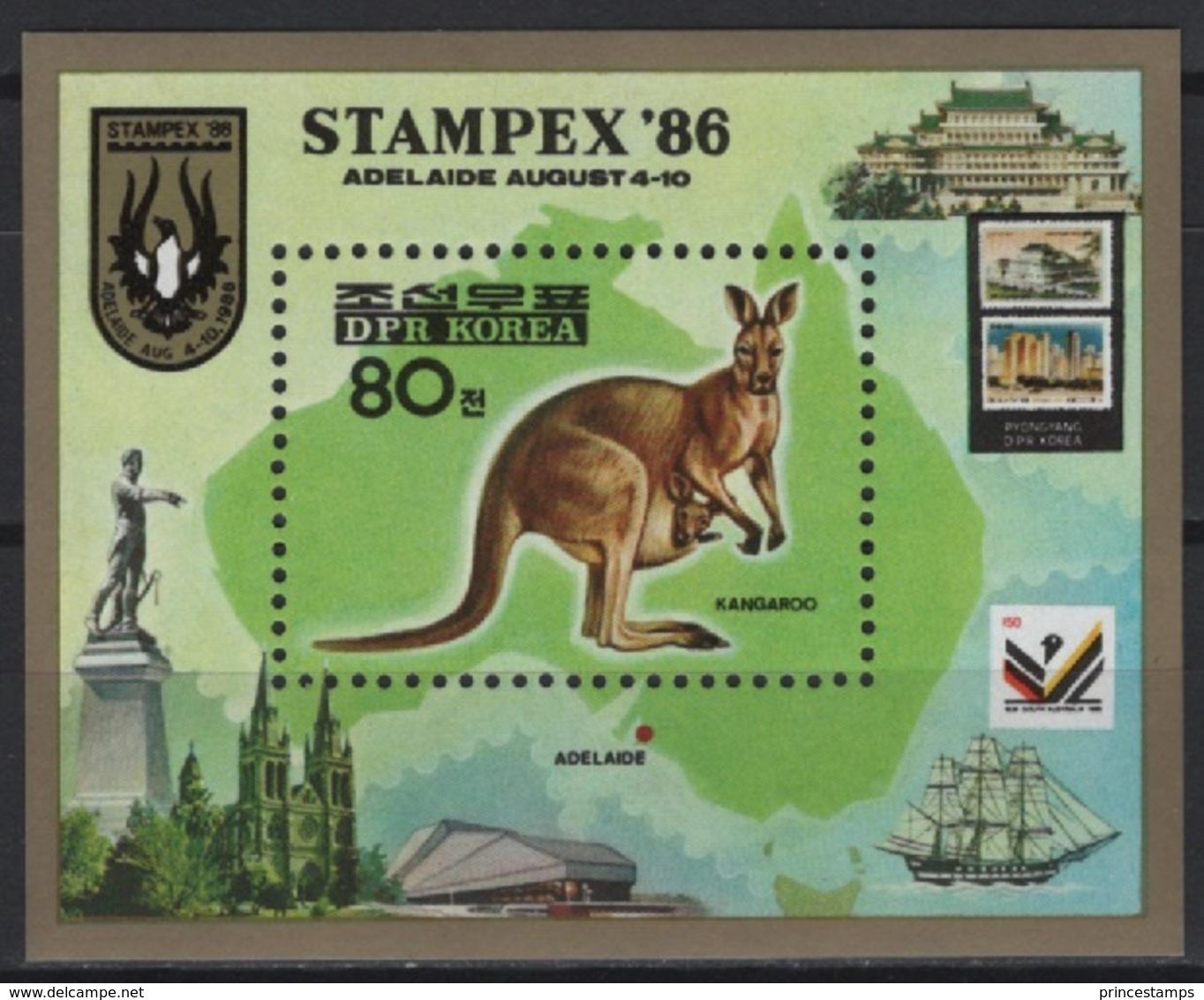 K* (1986) Yv. Bf. 40  /  Stamp On Stamp - Timbre Sur Timbre - Sello Sobre Sello - Ships - Postzegels Op Postzegels