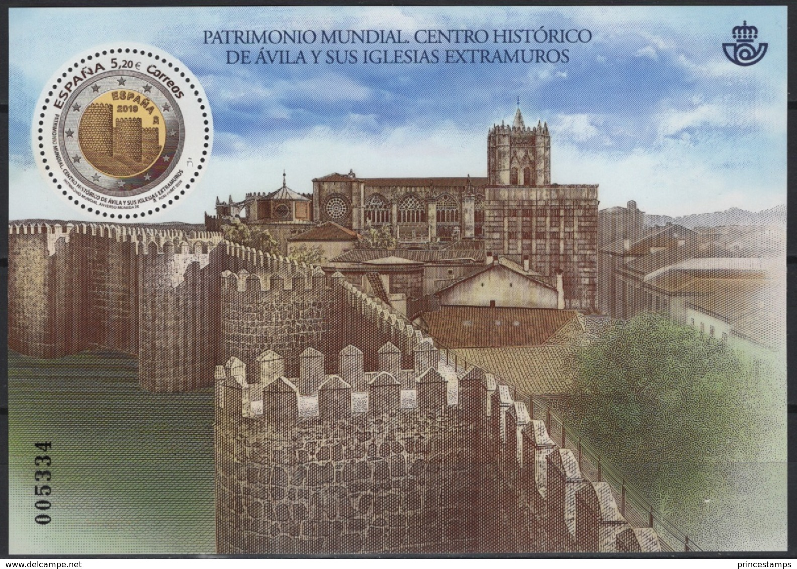 Spain (2019) - Block -  /   UNESCO World Heritage - Avila - Walls - Cathedral - Kerken En Kathedralen