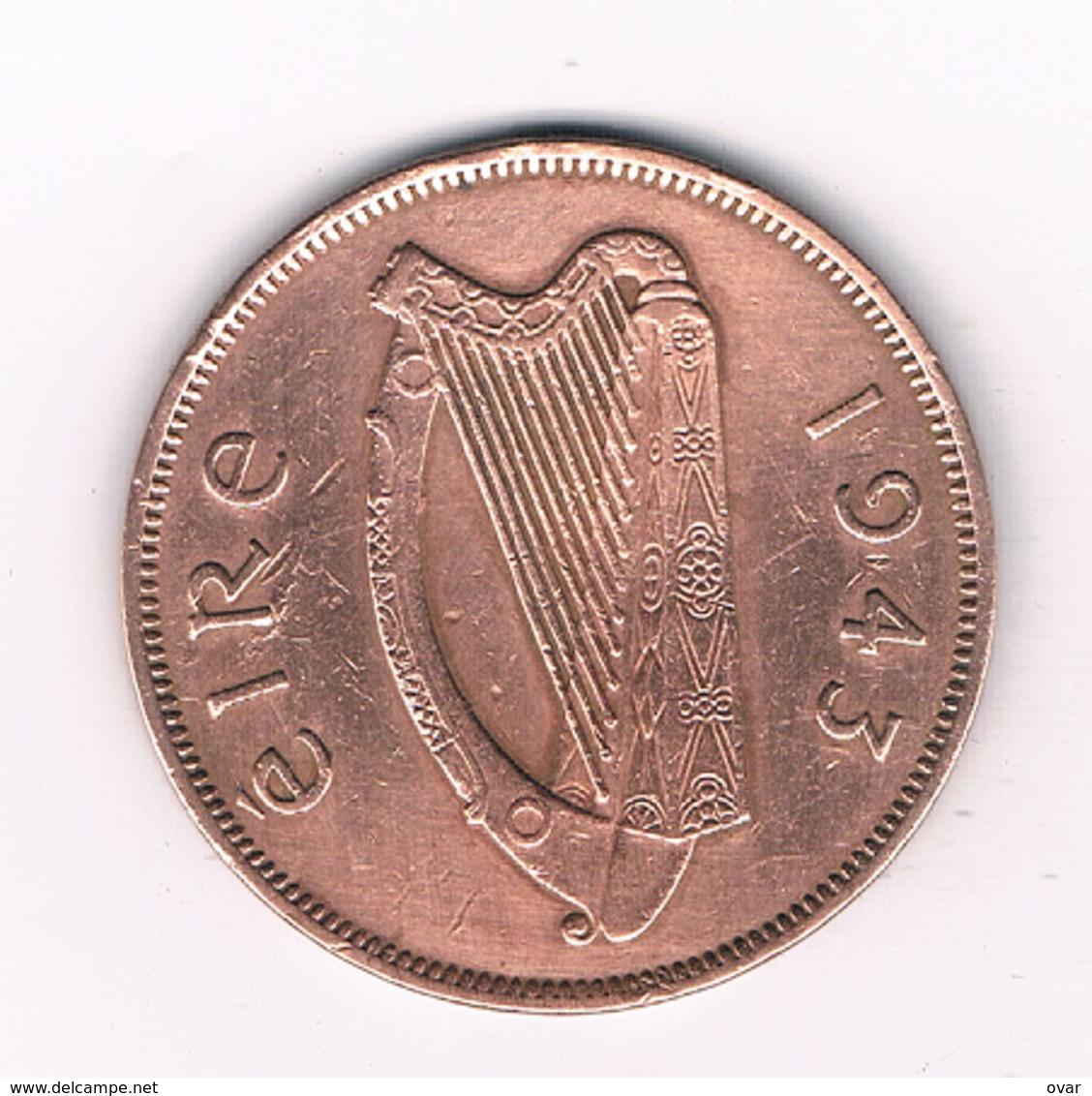 1 PENNY 1943 IERLAND /3128/ - Irland