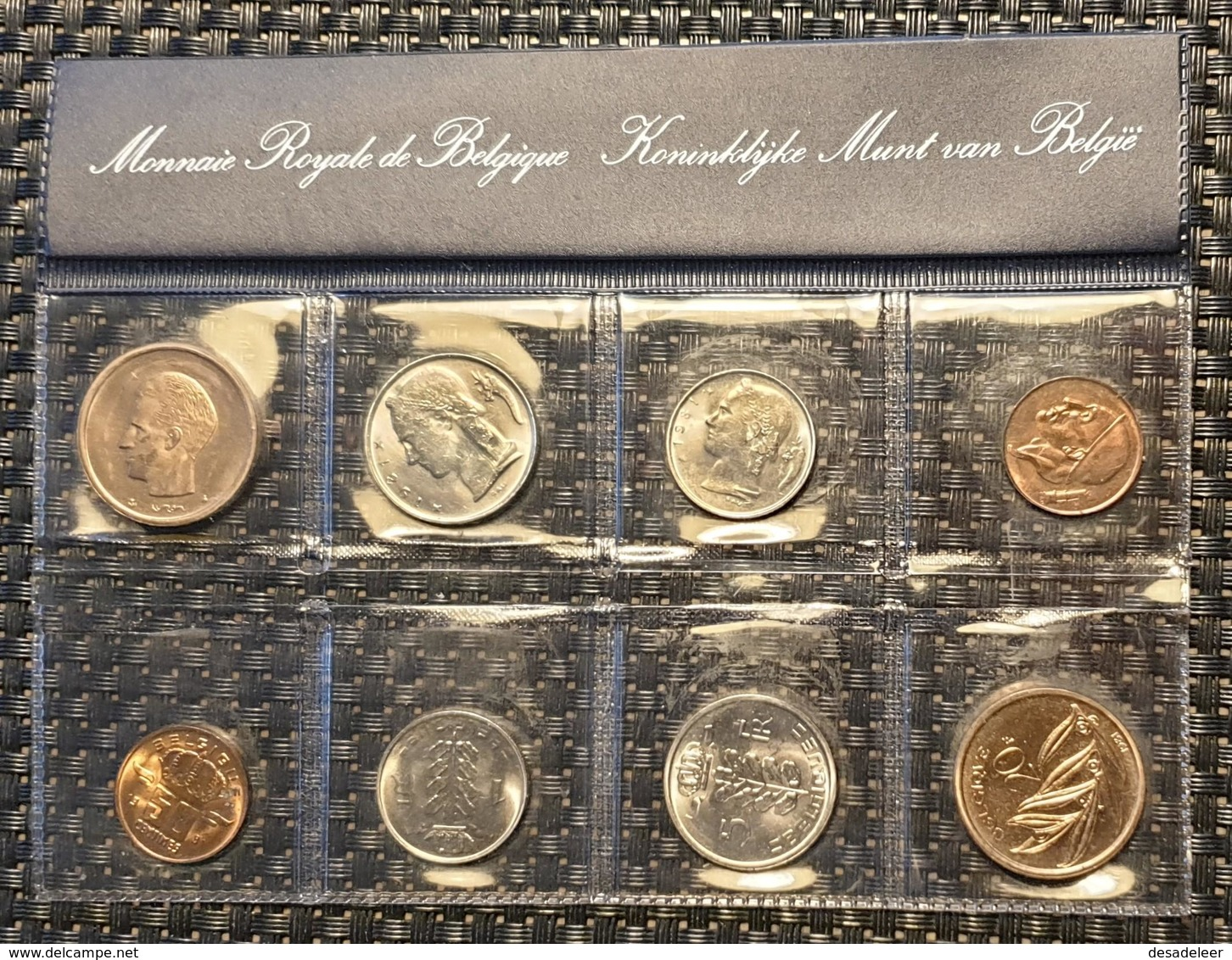 Belguim  - Coin Set - 1981 (french + Dutch) - Sammlungen