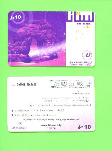 LIBYA - Remote Phonecard As Scan - Libya