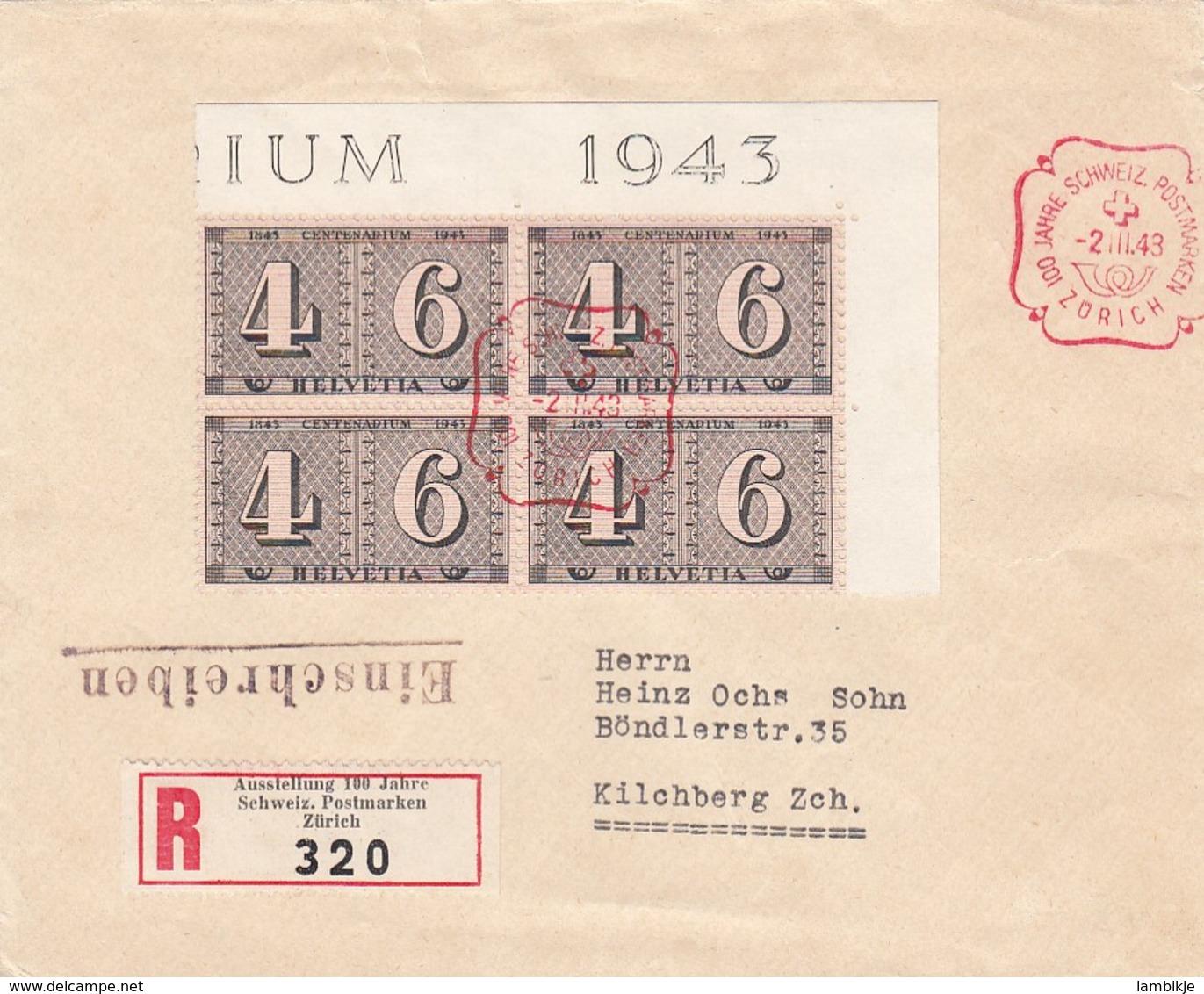 Schweiz R Brief 1943 - Schweiz