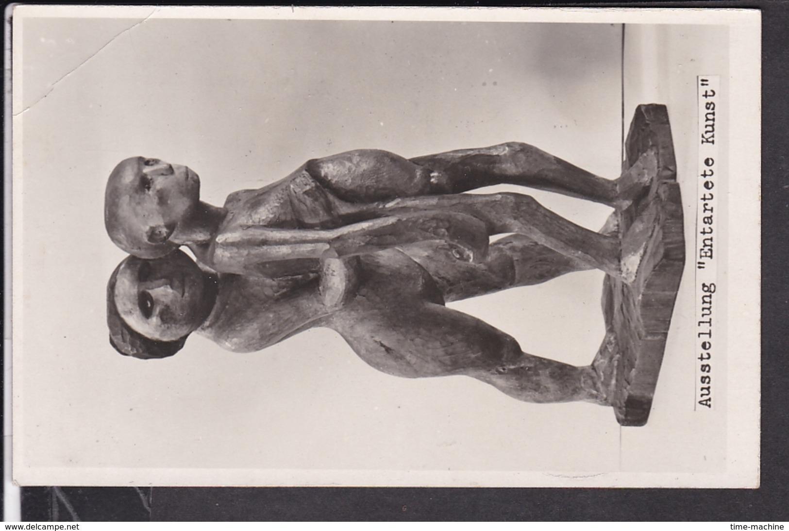"""Postkarte Ausstellung """" Entartete Kunst """" München 1937 - Allemagne"""
