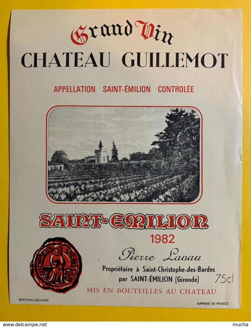 10242 - Château Guillemot 1982  Saint Emilion - Bordeaux