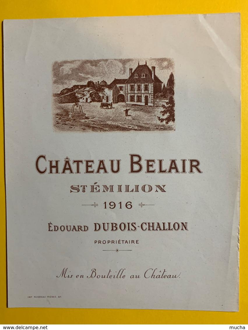 10248 - Château Belair 1916 Saint Emilion - Bordeaux