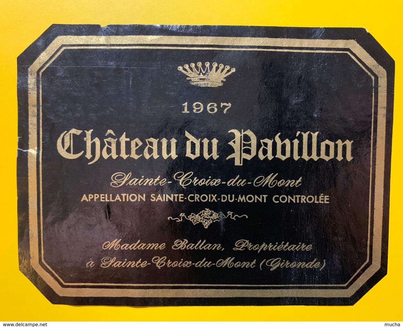 10256 - Château Du Pavillon 1967 Sainte-Croix-du-Mont - Bordeaux