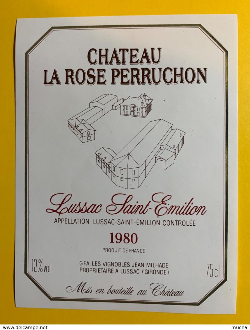 10259 - Château La Rose Perruchon 1980 Lussac St Emilion - Bordeaux