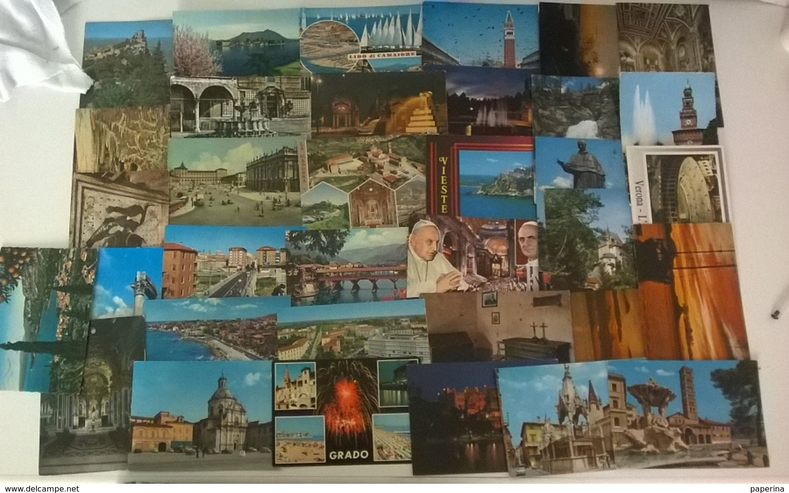 35 CARTOLINE ITALIA (2) - Cartoline