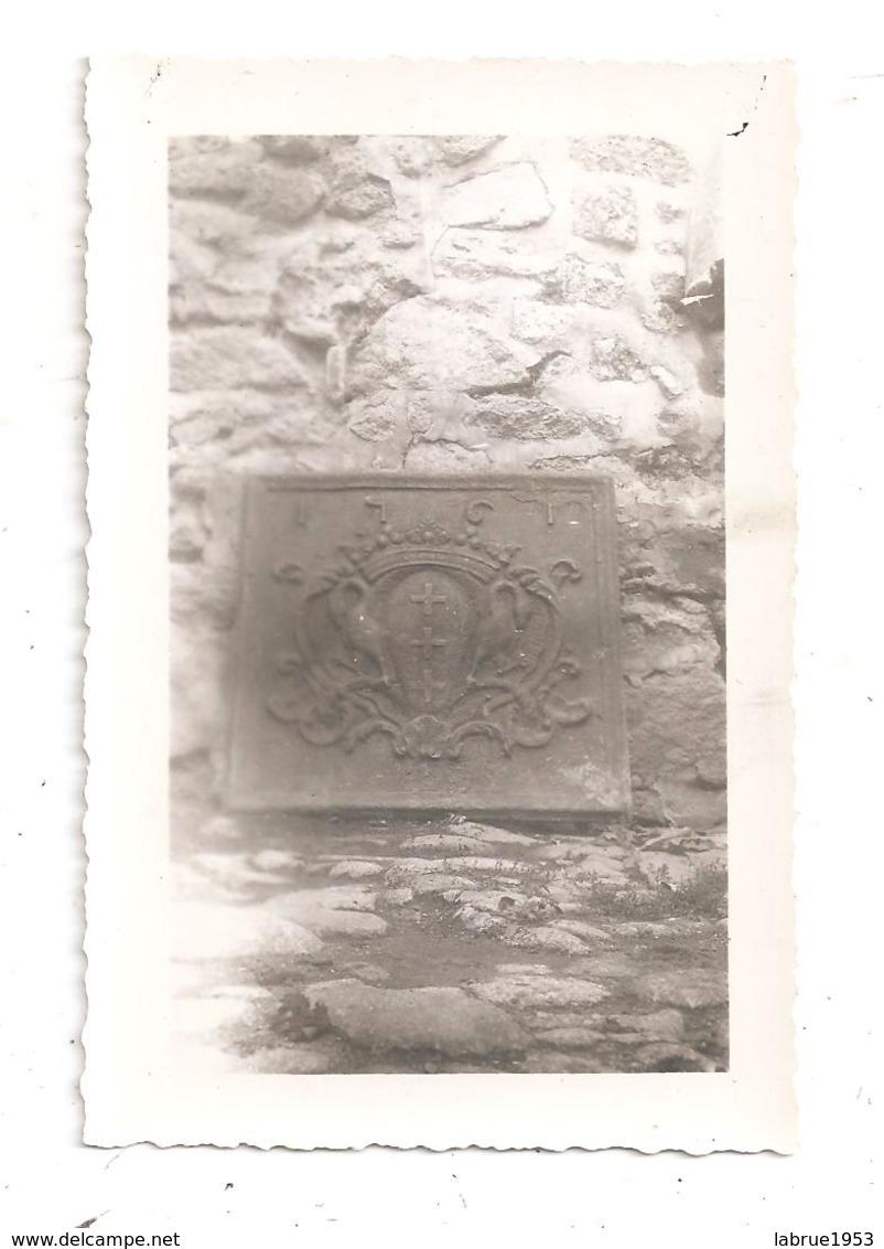 """La Souterraine-Plaque De Cheminée """"Maison Gartempe-photo Format 12.3x8 --(D.354) - La Souterraine"""