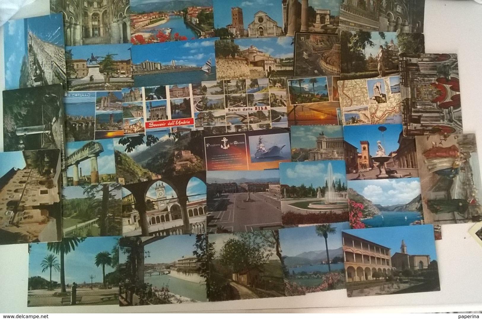 35 CARTOLINE ITALIA (4) - Cartoline