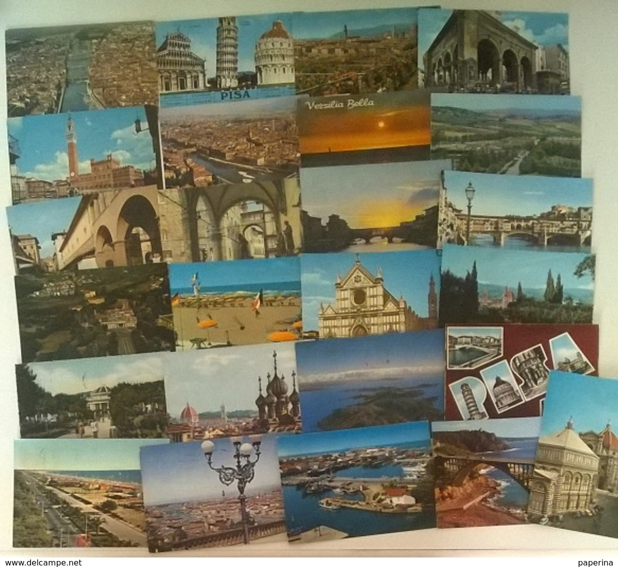 25 CARTOLINE TOSCANA  (6) - Cartoline