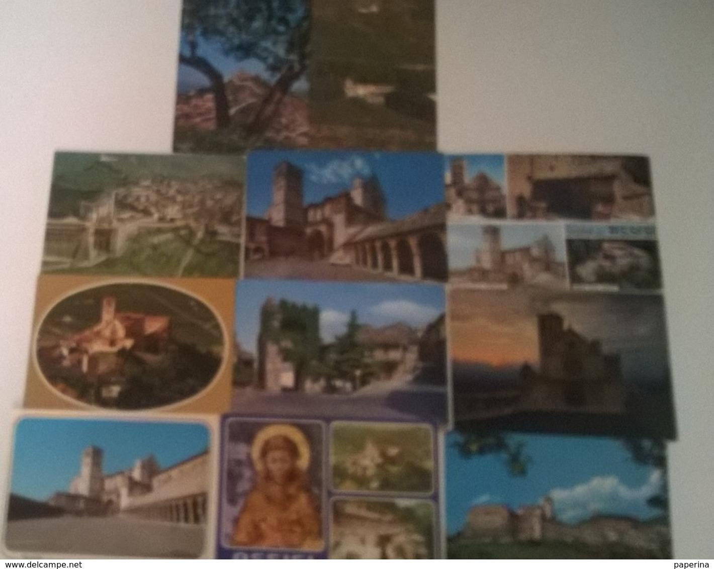 11 CARTOLINE ASSISI (16) - Cartoline