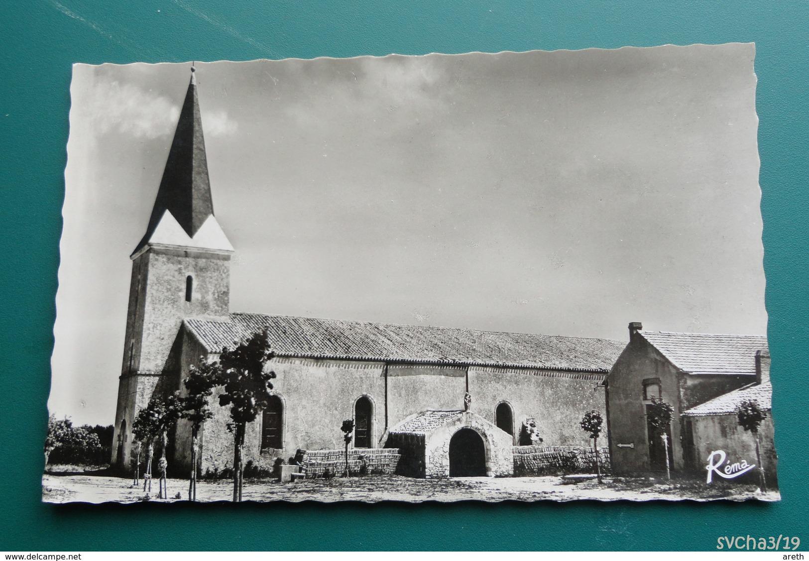 85 -   ILE DE NOIRMOUTIER  - L'Eglise De Barbâtre - Noirmoutier