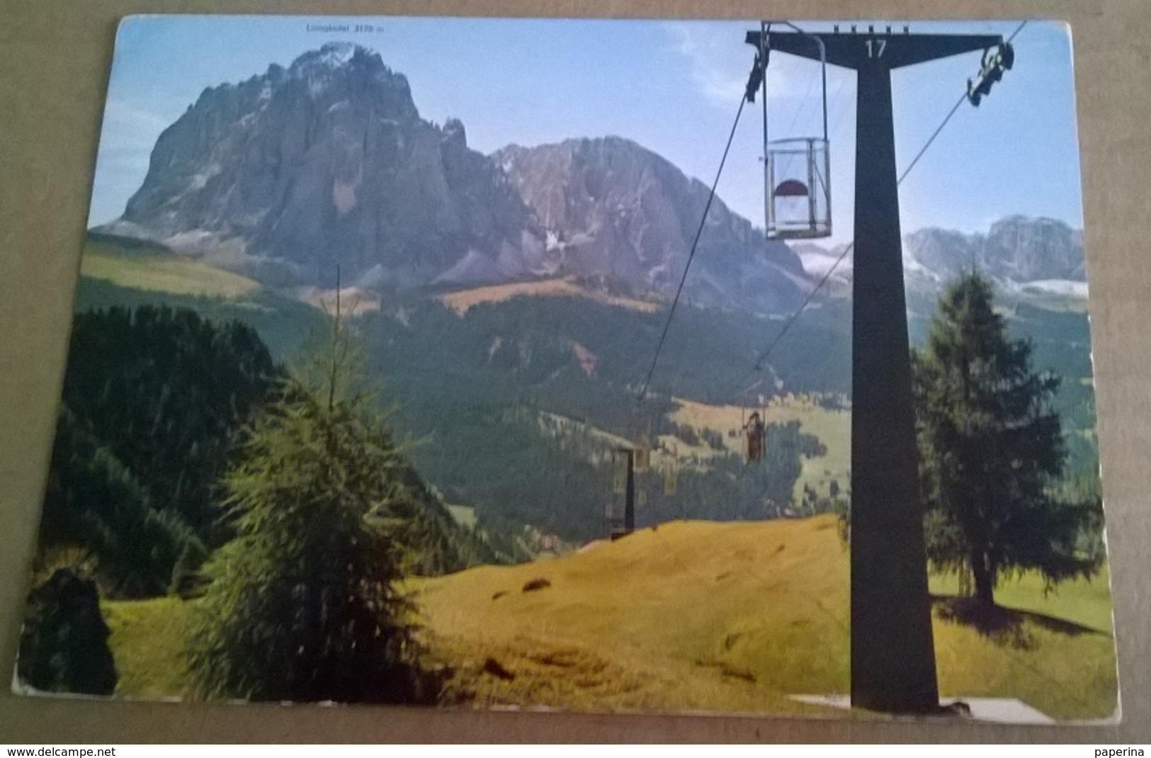 VAL GARDENA CABINOVIA  (60) - Cartoline