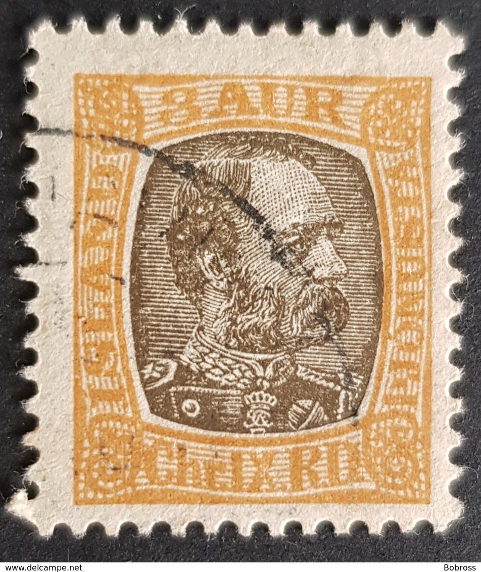 1902-1904 ?, King Christian LX, Island, Iceland, *,**, Or Used - 1873-1918 Dänische Abhängigkeit