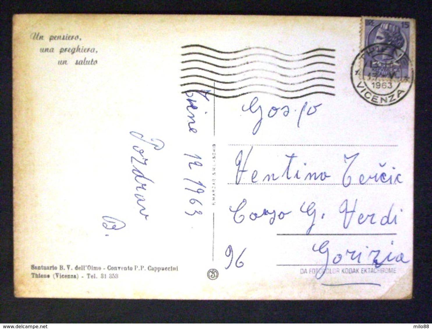 VENETO -VICENZA -THIENE -F.G. - Vicenza