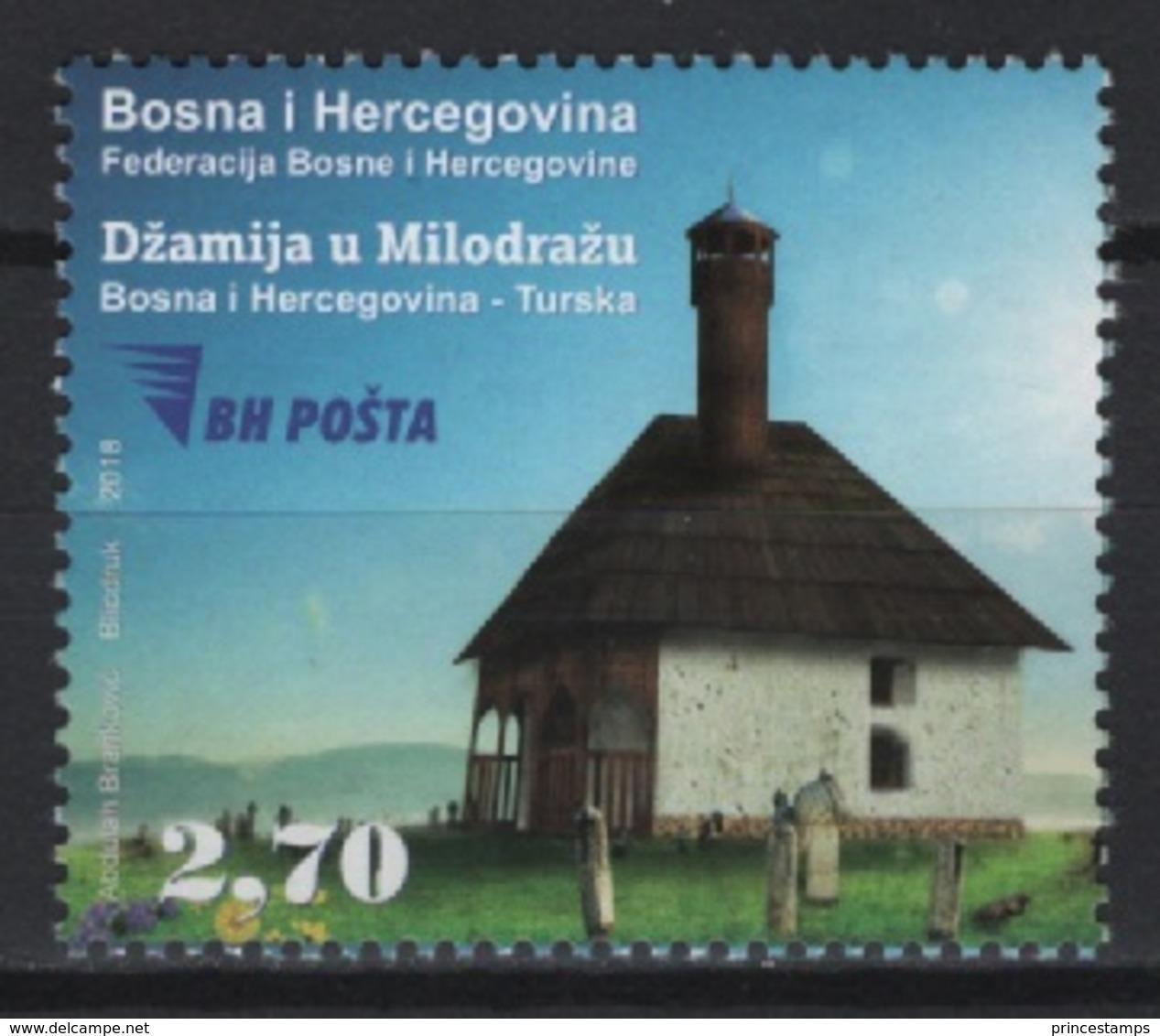 Bosnia & Herzeg. - BH (2018)  - Set -   /  Joint Issue With Turkey - Houses - Casas - Maisons - Architecture - Gezamelijke Uitgaven