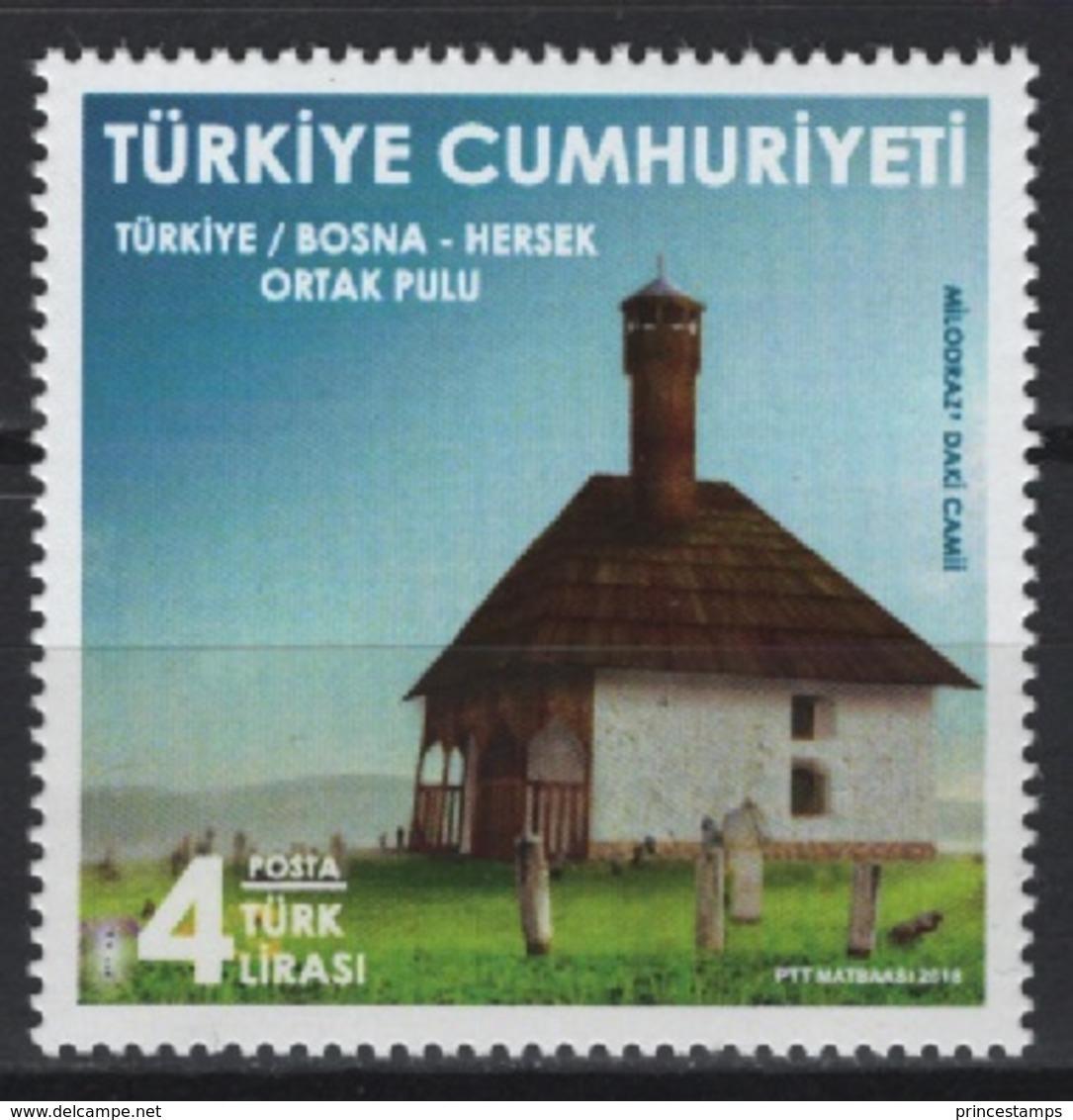 Turquie - Turkey (2018)  - Set -   /  Joint Issue With Bosnia & Herzegovina - Houses - Casas - Maisons - Architecture - Gezamelijke Uitgaven