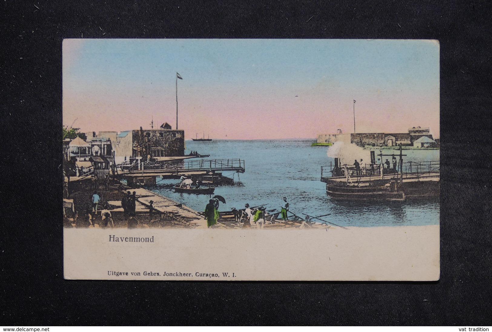CURAÇAO - Carte Postale - Havenmond -  L 27728 - Curaçao