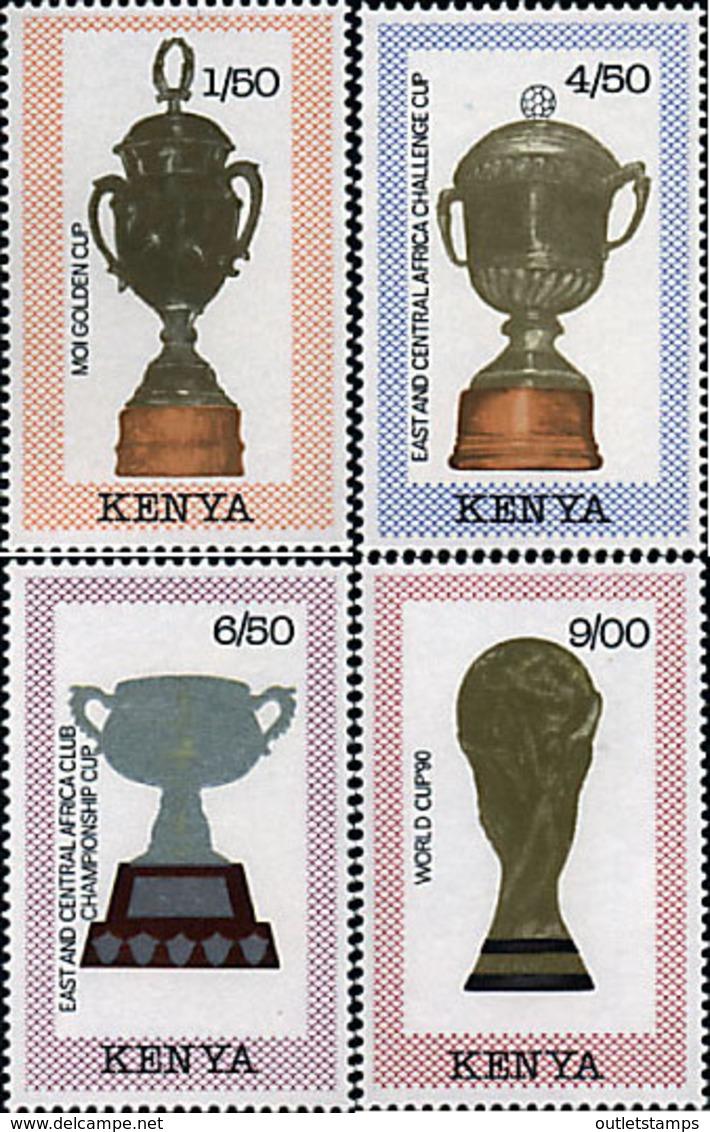 Ref. 27548 * NEW *  - KENYA . 1990. FOOTBALL WORLD CUP. ITALY-90. COPA DEL MUNDO DE FUTBOL. ITALIA-90 - Kenia (1963-...)