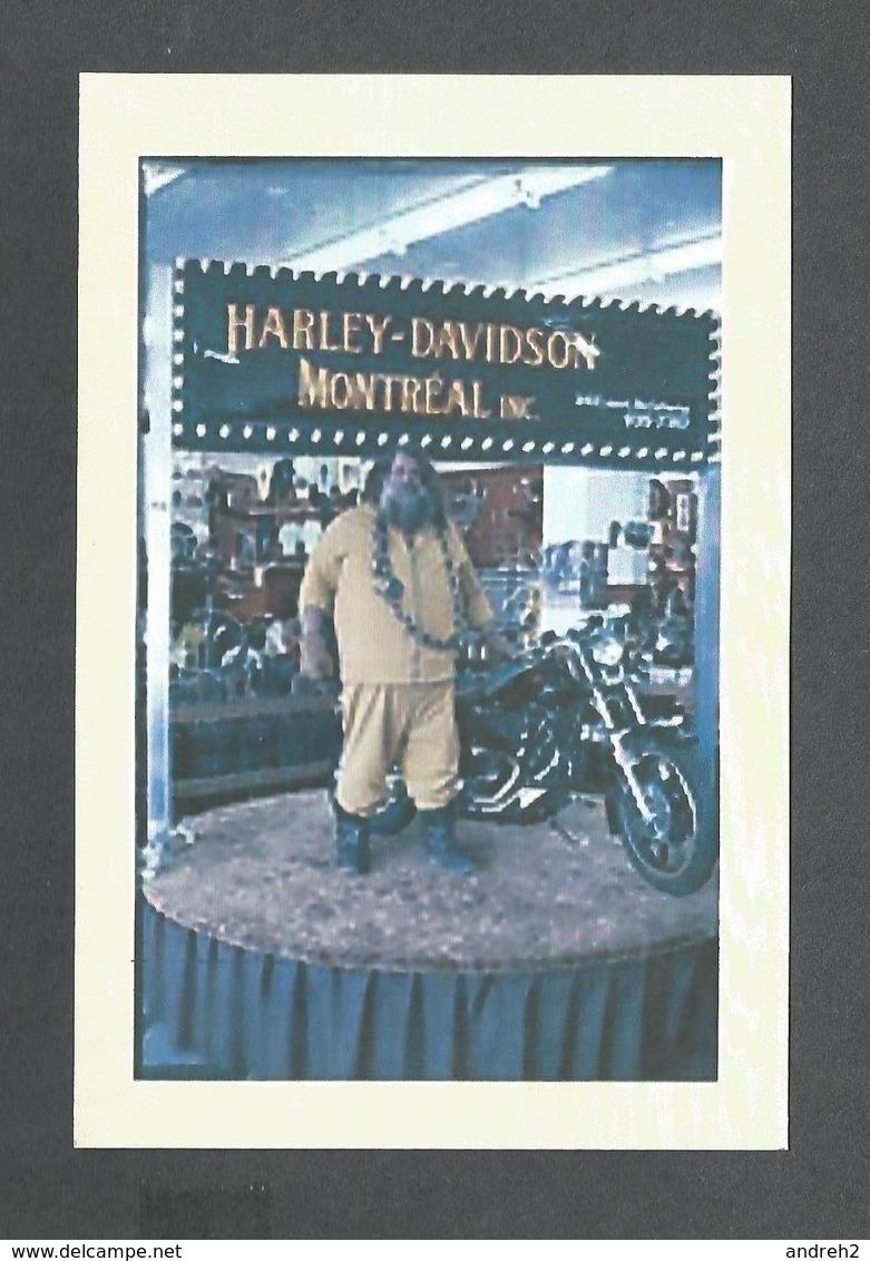 SPORTS - LUTTE - HOMME FORT LE GRAND ANTONIO AU SALON DE LA MOTO VERS 1979 - Lutte