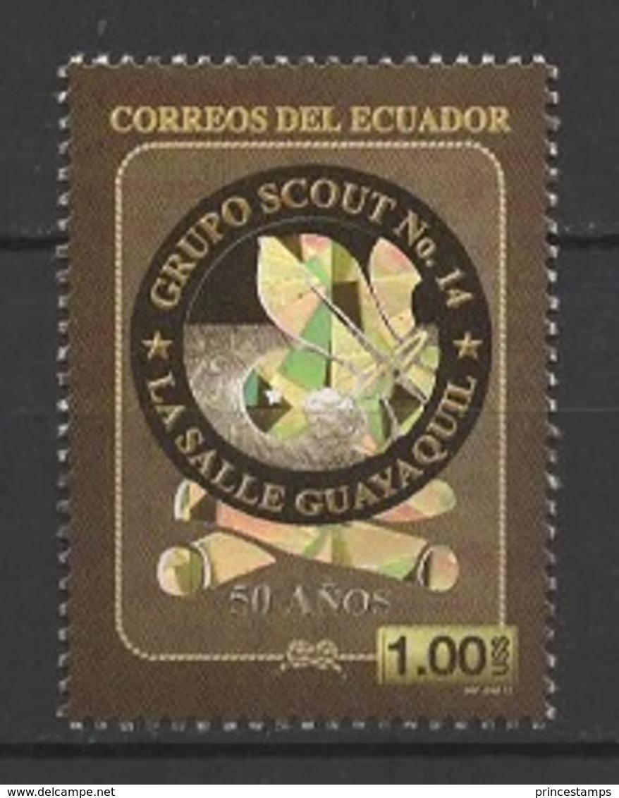 Ecuador (2013) - Set -   /  Scouts - Scouting - Scout Group #14 - La Salle Guayaquil - Unusual PRINTING - Padvinderij