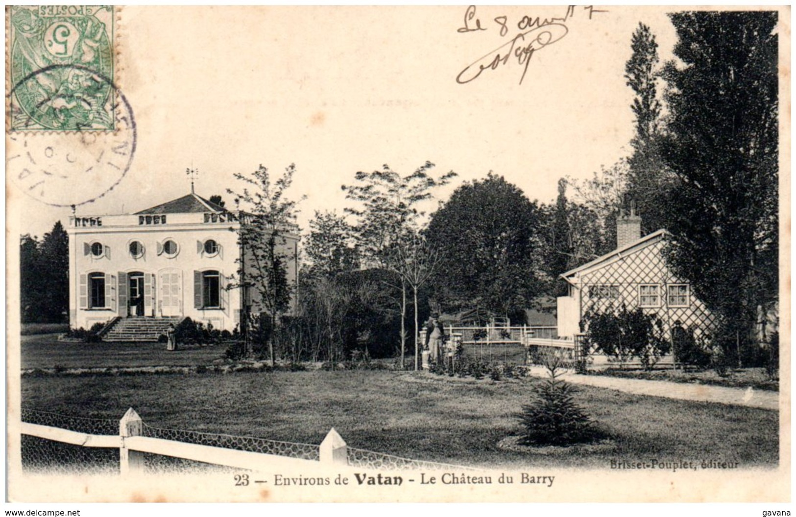 36 Environs De VATAN - Le Chateau Du Barry - Frankreich