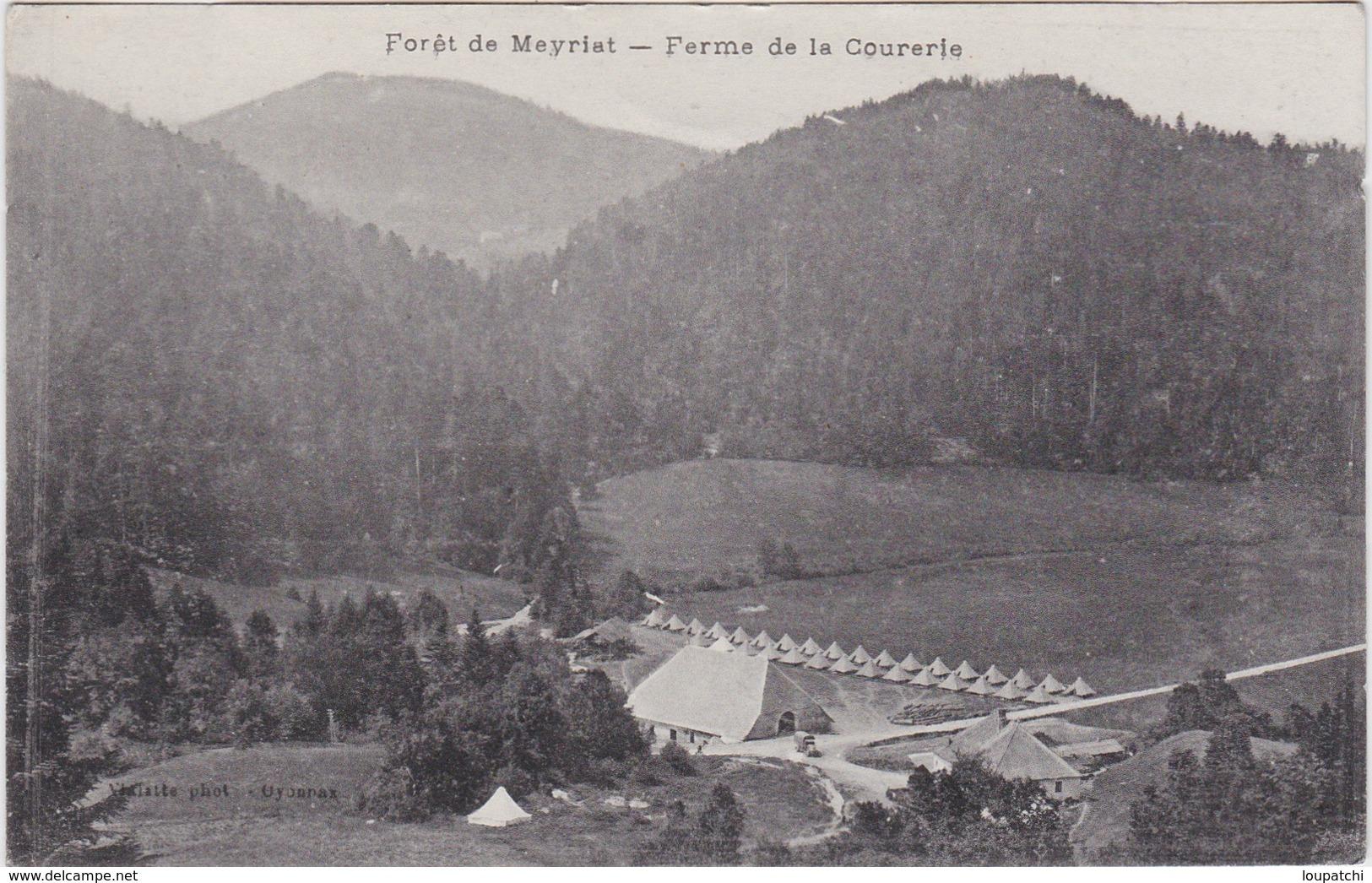 Foret De Meyriat Ferme De La Courerie - France