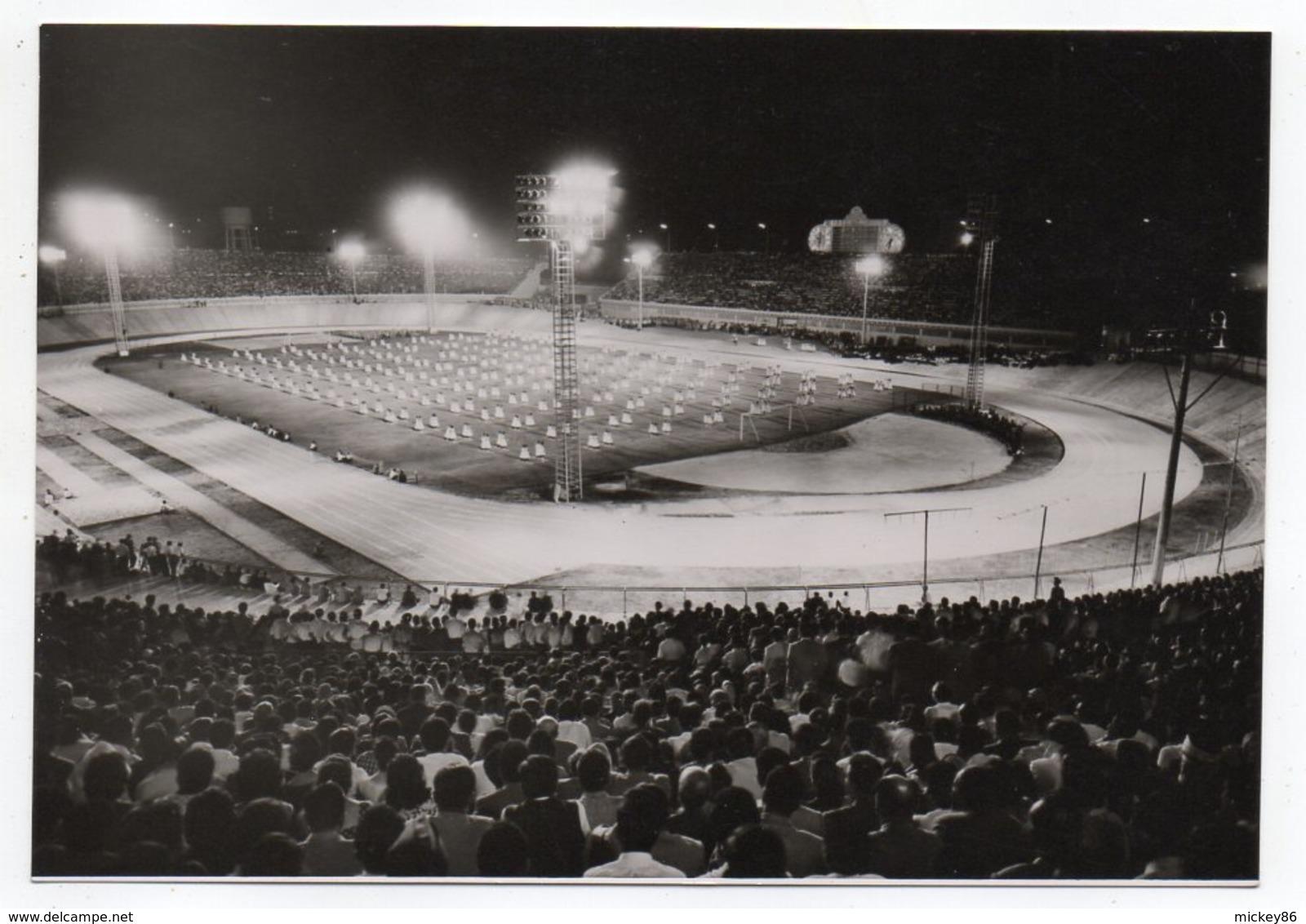 Liban -- BEYROUTH --BEIRUT --Stade De Football -Célébration Des 3ème Jeux Méditerranéens-11 Au 27 Octobre 1959--animée - Liban