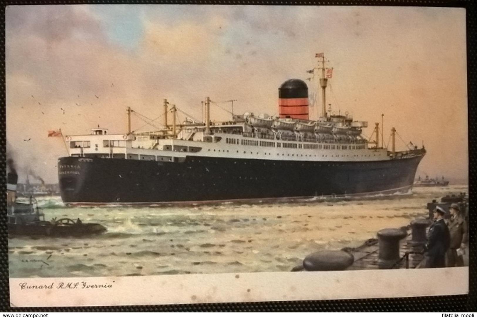 TRANSATLANTICI - RMS IVERNIA - Altri