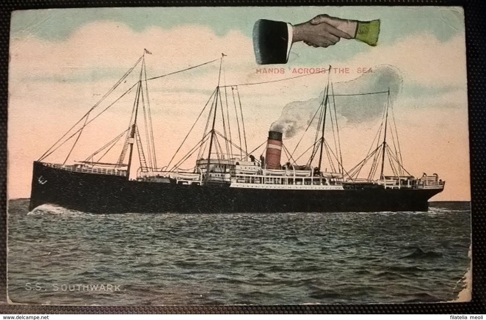 TRANSATLANTICI - S.S. SOUTHWARK - Barche