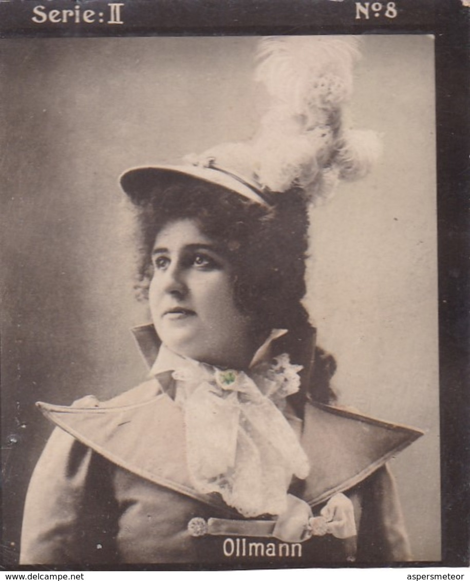 OLLMANN. HABANILLOS LA PLATA. COLORISE. CARD TARJETA COLECCIONABLE TABACO. CIRCA 1915 SIZE 4.5x5.5cm - BLEUP - Berühmtheiten