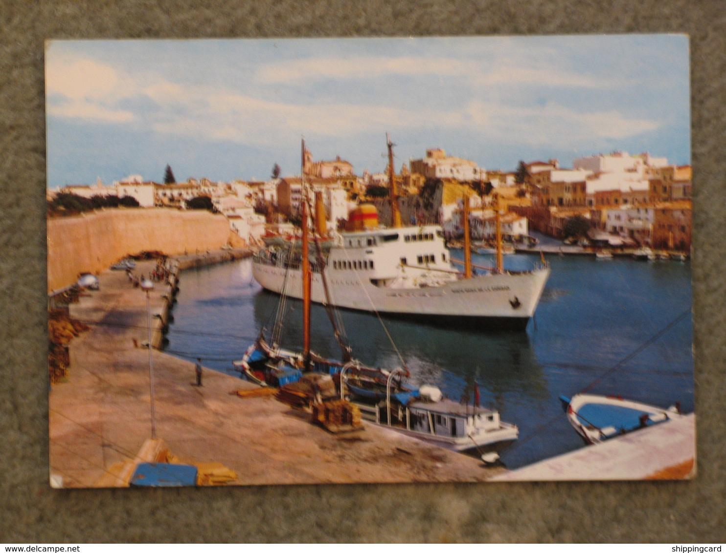 CIUDAD MARIA DE LA CARIDAD - MENORCA FERRY - Ferries