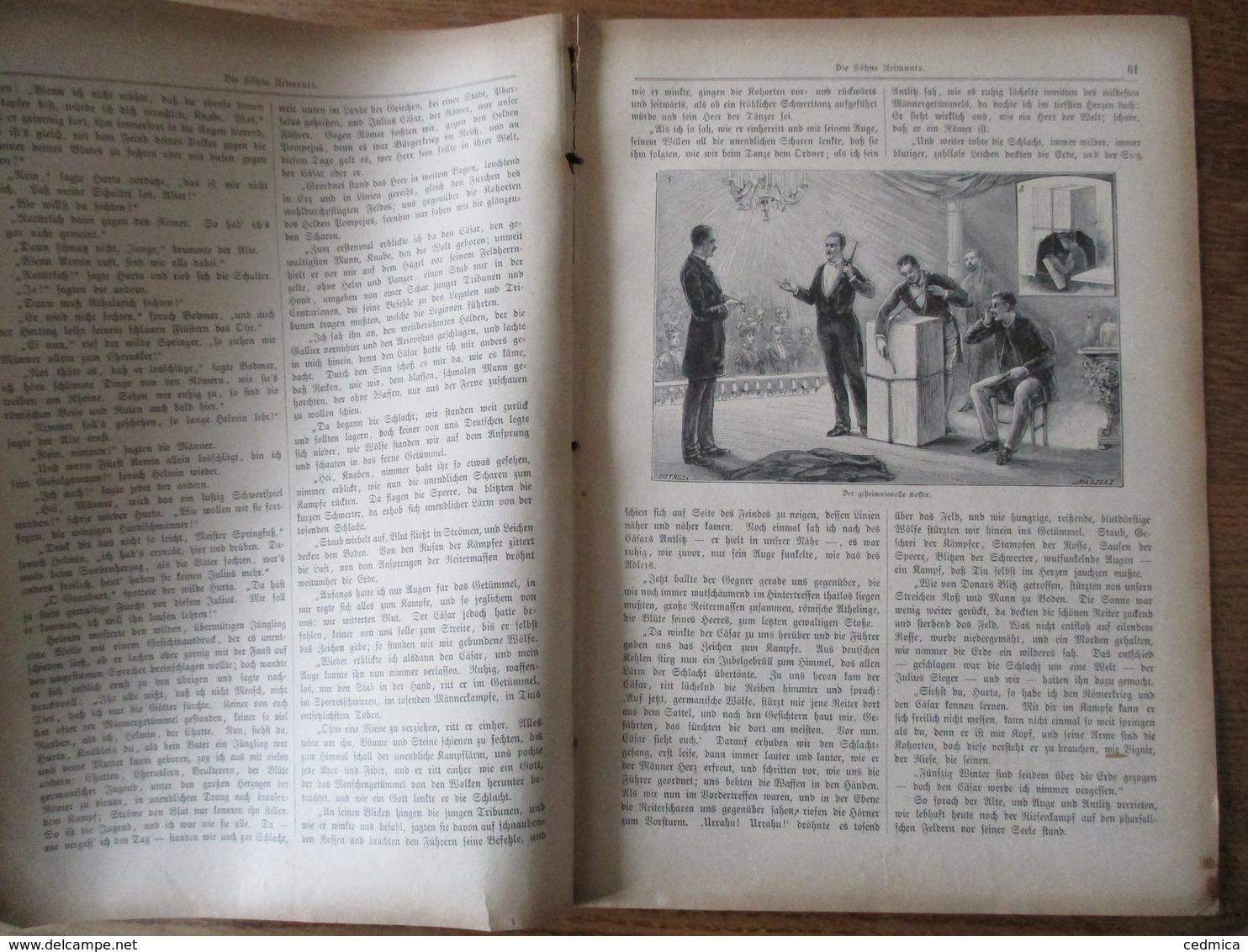 DER  GUTE KAMERAD 1896 N°5 - Kinder- & Jugendzeitschriften