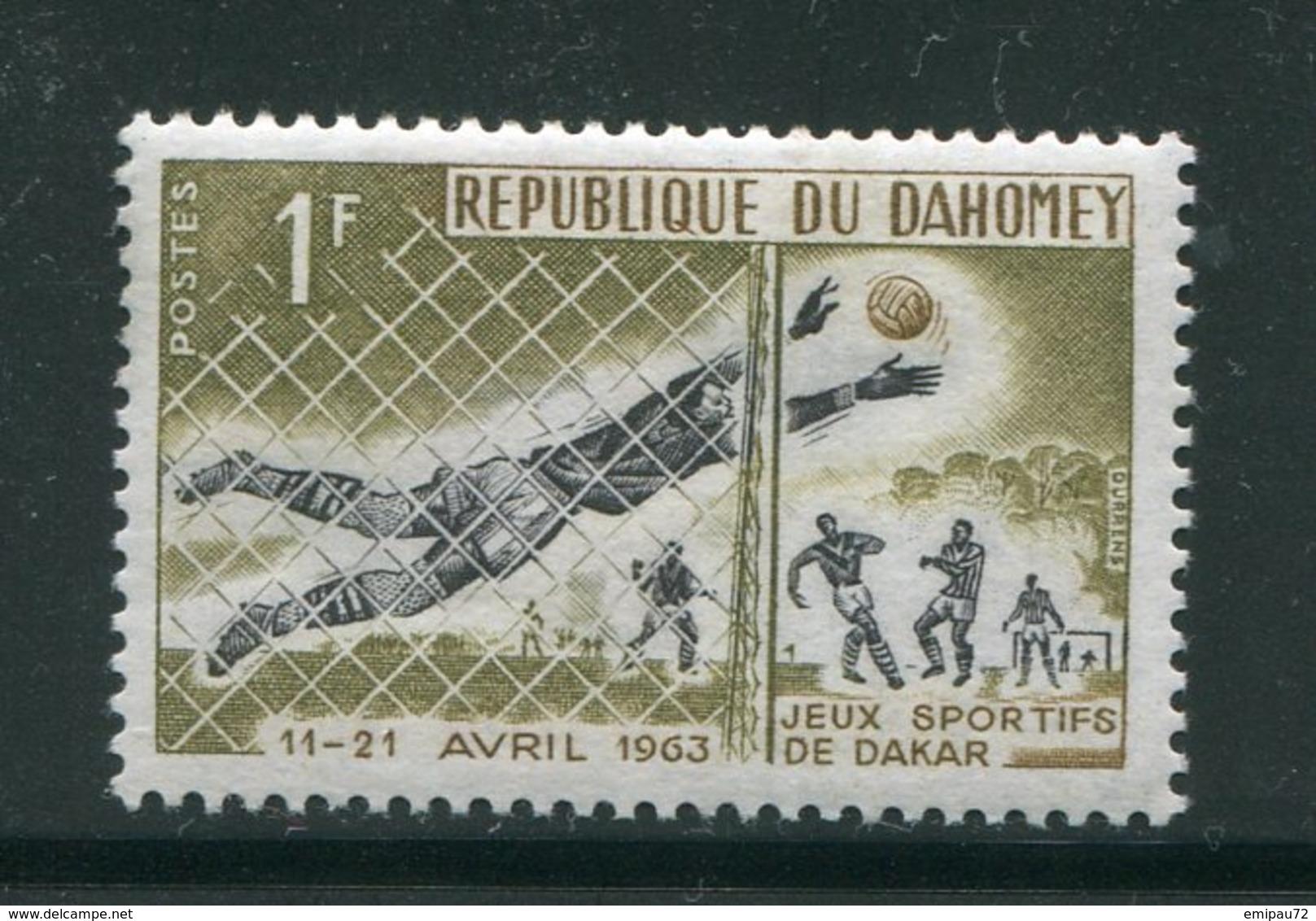 DAHOMEY- Y&T N°193- Neuf Avec Charnière * (football) - Bénin – Dahomey (1960-...)