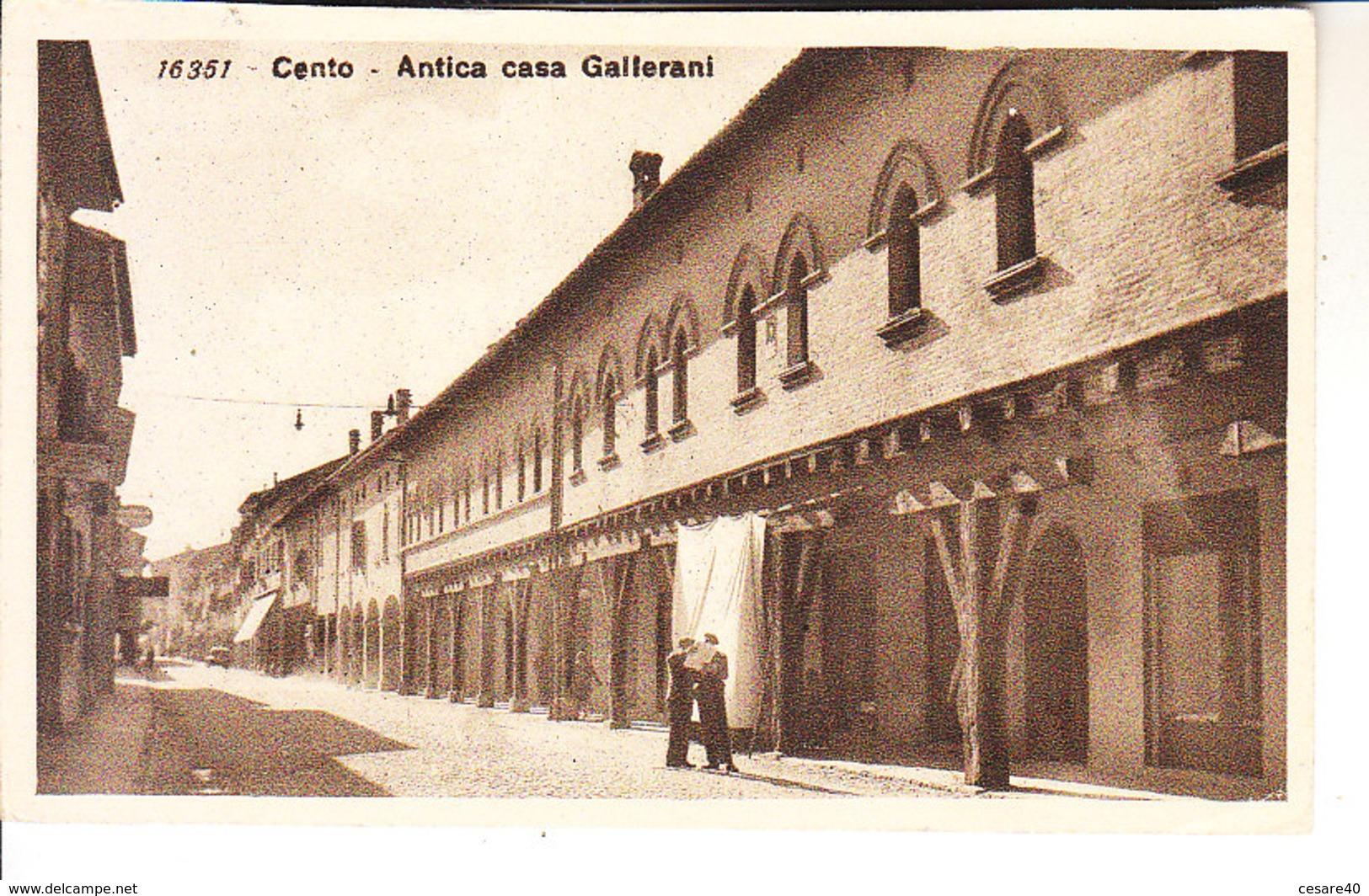 ITALIA - CENTO (ferrara) - Leggi Testo, Animata, Viag. 1938 For. Piccolo - 2018-123 - Altre Città