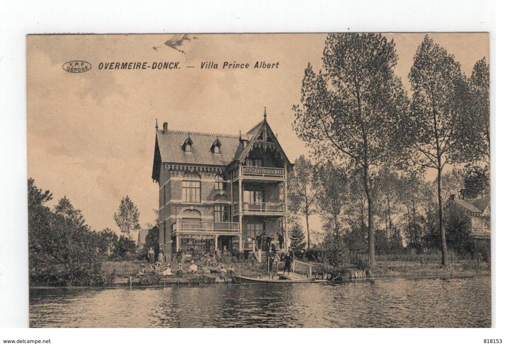 Overmere  OVERMEIRE-DONCK  - Villa Prince Albert 1913 - Berlare