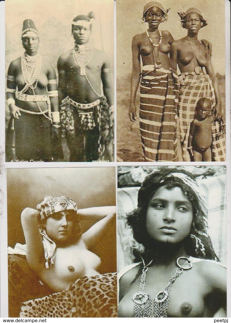Lot - Photo Afrique  - Reproduction - NU ETHNIQUE  -  152X113 - 50 Vues - Voir Scans - Ethniques, Cultures