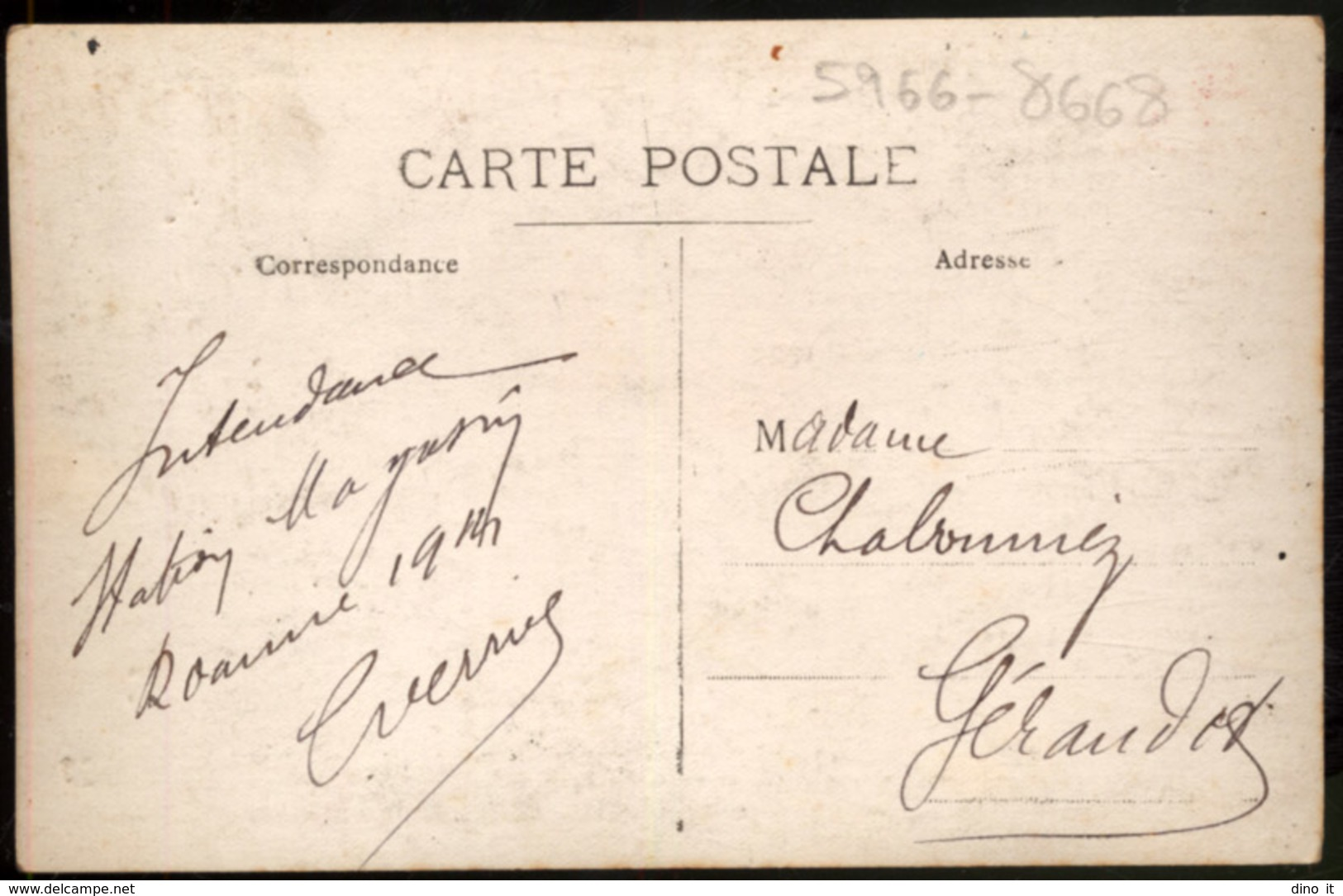 Carte Photo D' Un Groupe De Militaires - Roanne 1914 - Originale - War, Military
