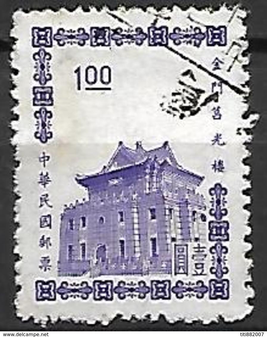 FORMOSE   -       Batiment Officiel.   Oblitéré - 1945-... República De China