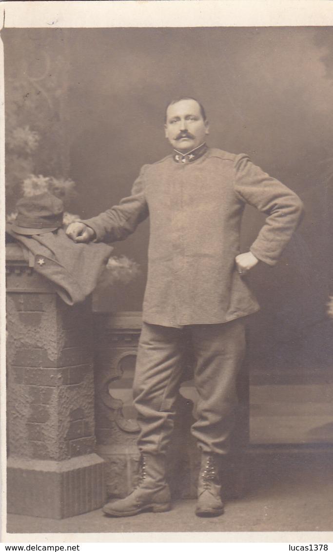 JOLIE  CARTE PHOTO ITALIENNE / SOLDAT / 1 ETOILE - Uniforms