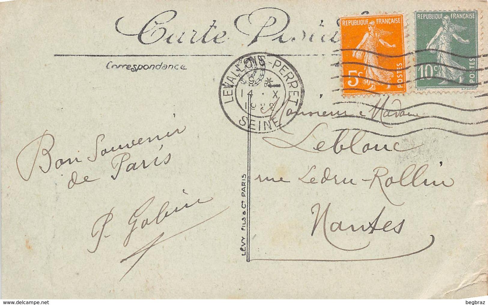 PARIS     PORTE ET BOULEVARD ST MARTIN      AUTOBUS - Arrondissement: 10