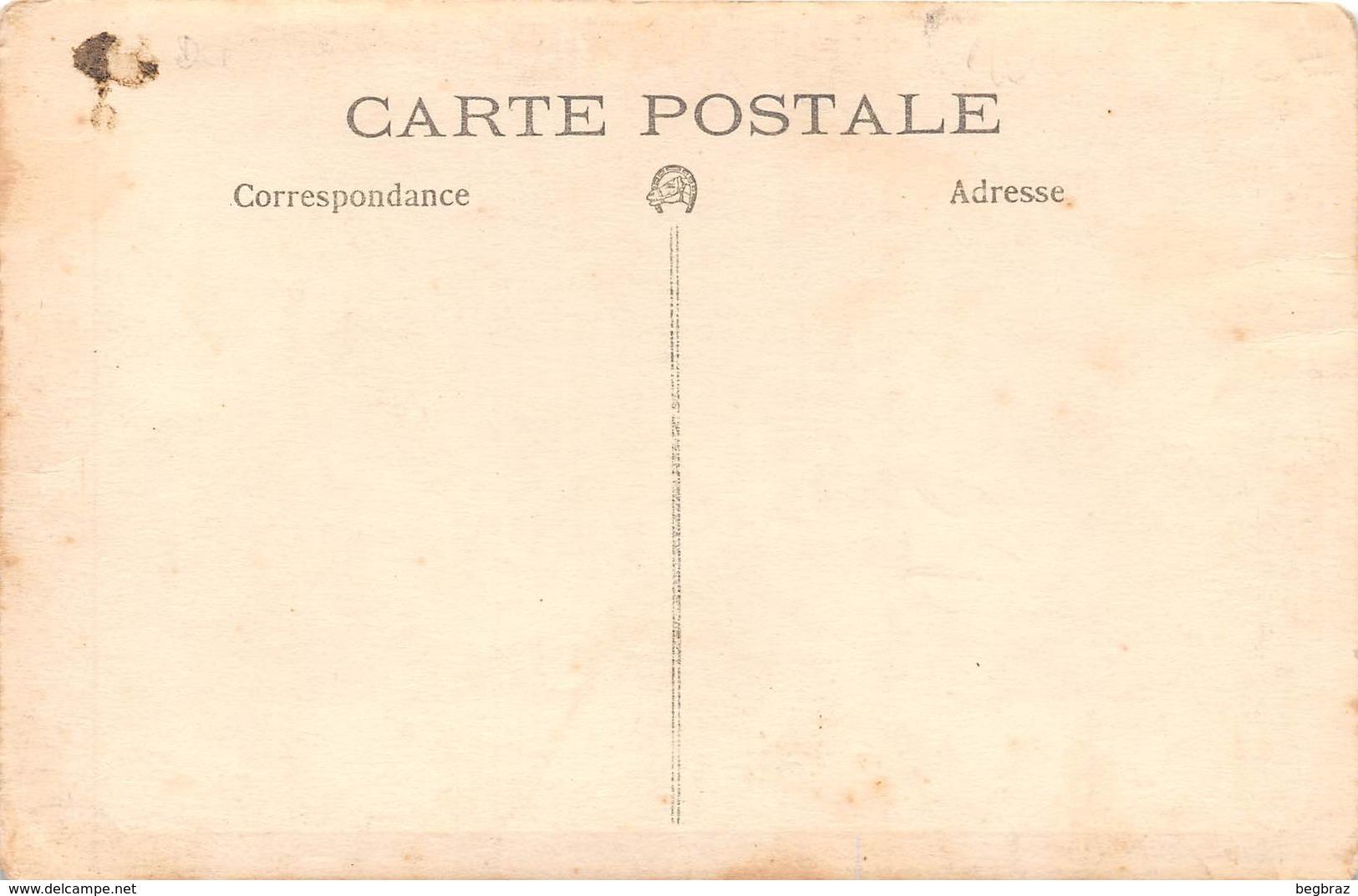 CARTE PHOTO     HOPITAL MILITAIRE    MAISON DE CONVALESCENCE - Guerre 1914-18